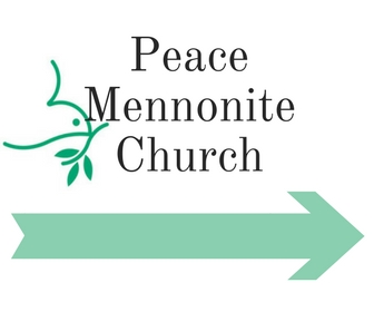 Peace Mennonite Church sign (for at 1st baptist_arrow 1)