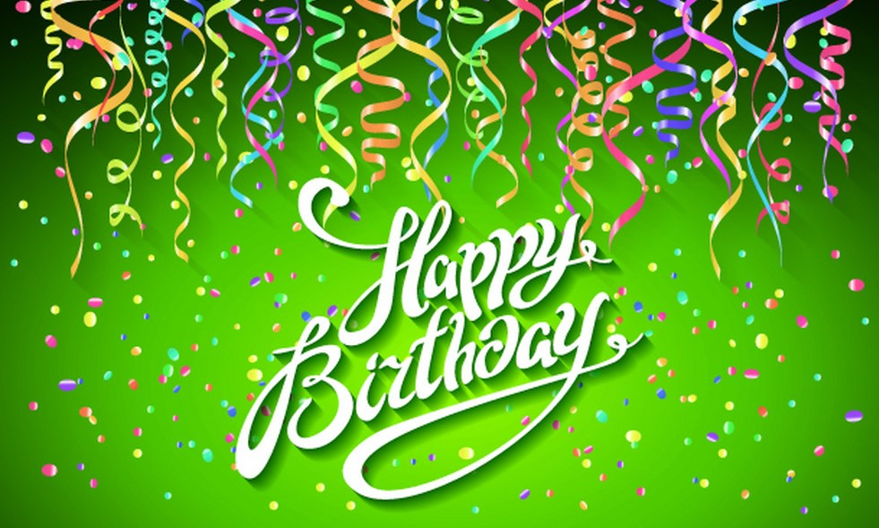 happy-birthday-card-with-green-background-with-vector-13675989